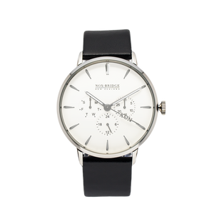 NOX-BRIDGE Classic Capella Silver 41MM