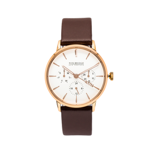 NOX-BRIDGE Classic Izar Rose Gold 36MM