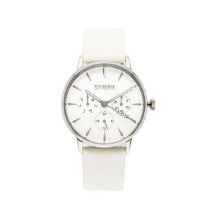 NOX-BRIDGE Classic Meissa Silver 36MM