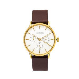 NOX-BRIDGE Classic Izar Gold 36MM