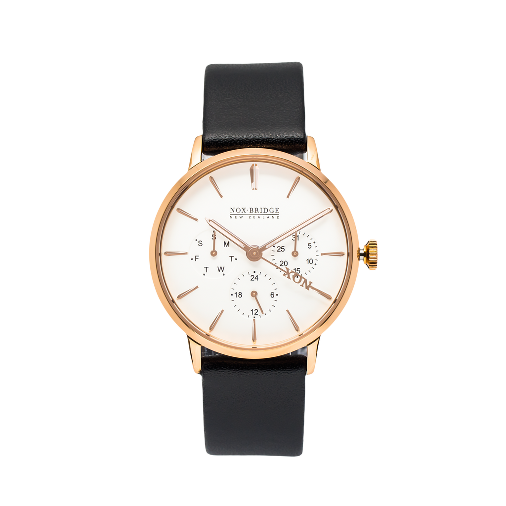 NOX-BRIDGE Classic Capella Rose Gold 36MM