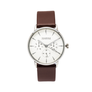 NOX-BRIDGE Classic Izar Silver 36MM