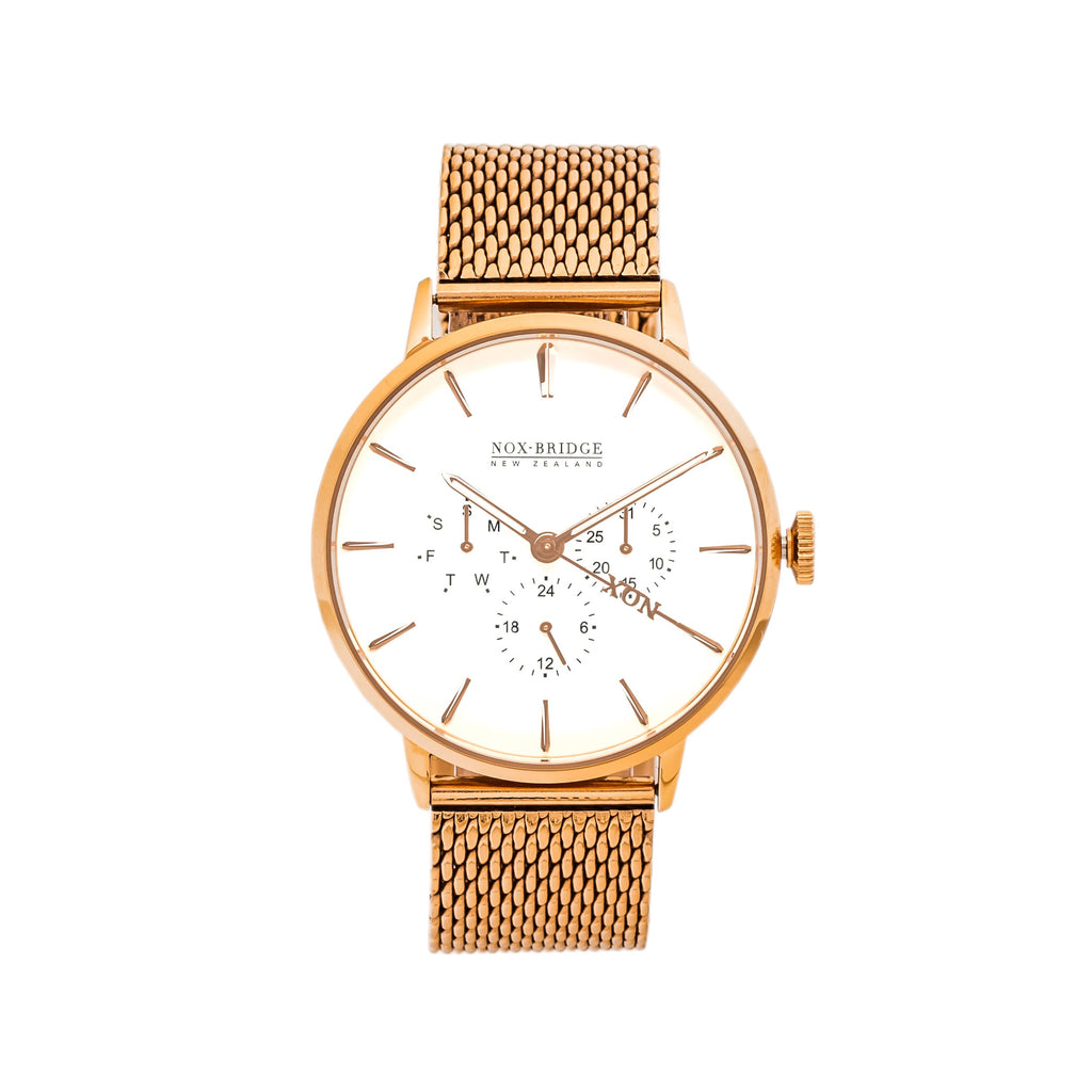 NOX-BRIDGE Supreme Phoenix Rose Gold 41MM