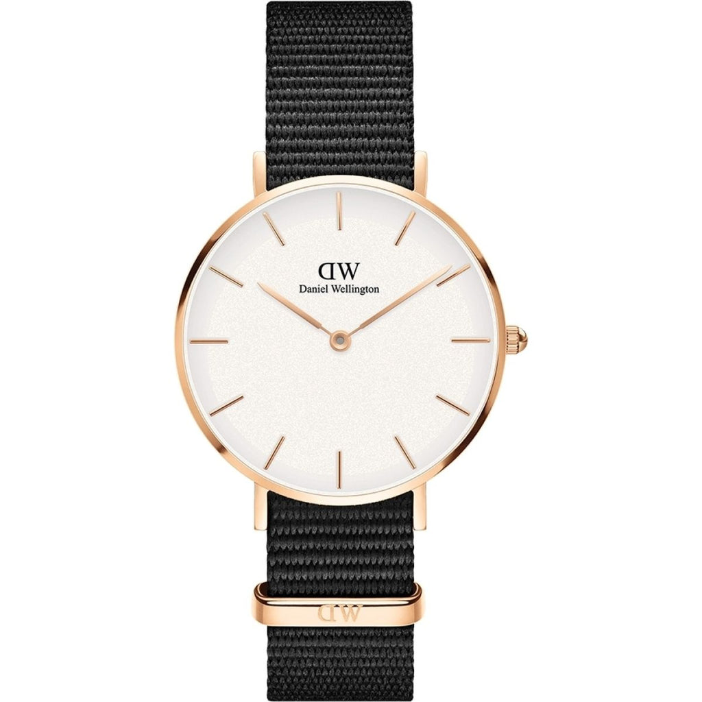 Daniel Wellington White Classic Petite Cornwall 32mm Women's Gold Watch DW00100253 - Big Daddy Watches