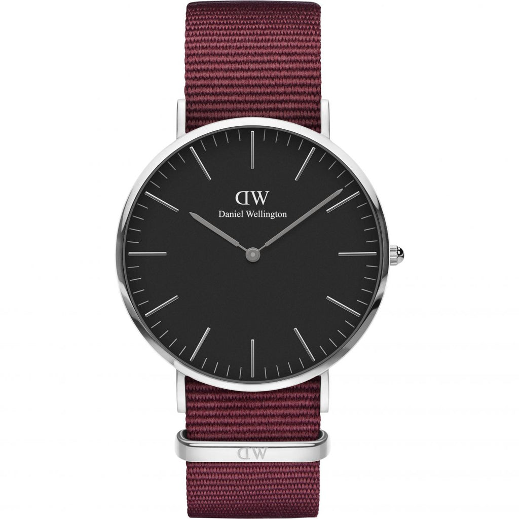 Daniel Wellington Roselyn 40mm Men's Silver Watch - Big Daddy Watches
