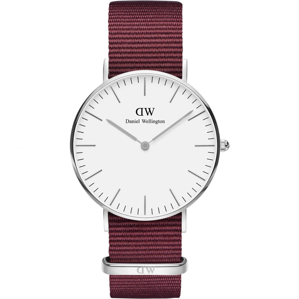 Daniel Wellington White Classic Roselyn 36mm Women's Silver Watch DW00100272 - Big Daddy Watches