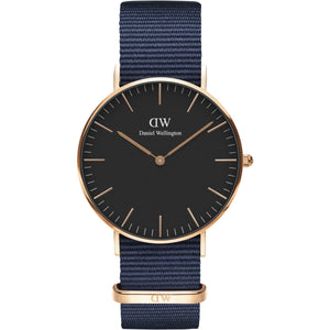Daniel Wellington Bayswater 36mm Women's Gold Watch - Big Daddy Watches