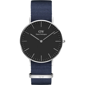 Daniel Wellington Bayswater 36mm Women's Silver Watch - Big Daddy Watches