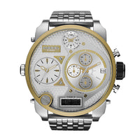 Diesel Big Daddy DZ7260 3ATM (30m) water resistant 4 Japan movements with a chronograph and date function