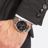 Hugo Boss Companion Chronograph Black Dial Men's Watch 1513548