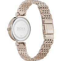 Hugo Boss Off White Dial Stainless Steel Ladies Watch 1502480