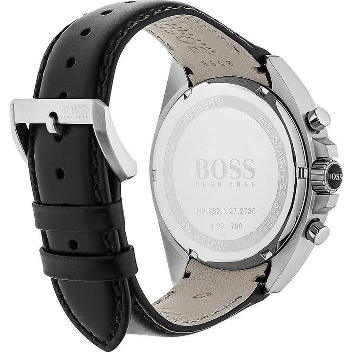Hugo Boss Chronograph Black Dial Men's Watch 1513085 Water resistance: 50 meters Movement: Quartz