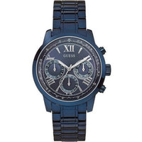 Guess Sunrise Multi-Function Blue Dial Ladies Watch W0330L6