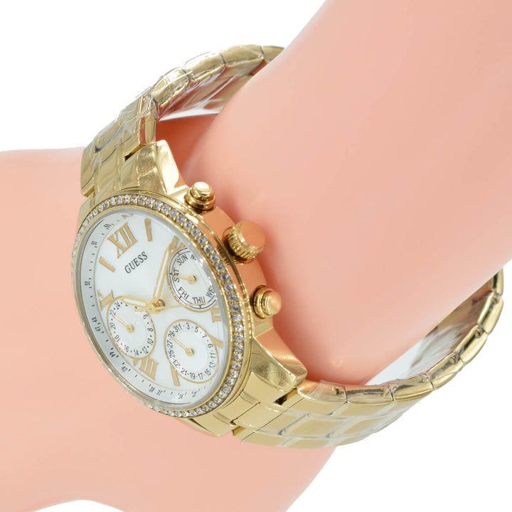 Guess Mini Sunrise Gold-Tone Stainless Steel Ladies Watch W0623L3