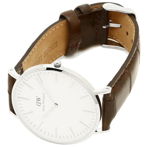 Daniel Wellington York 40mm Men's Silver Watch DW00100025