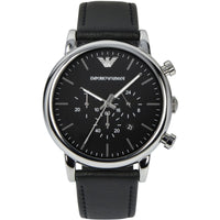 Emporio Armani Classic Chronograph Black Dial Men's Watch AR1828 Water resistance: 50 meters / 165 feet Movement: Quartz