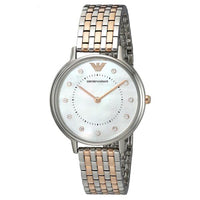 Emporio Armani Mother of Pearl Dial Ladies Watch AR2508