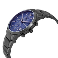 Emporio Armani Renato Chronograph Gunmetal Dial Men's Watch AR11215 Water resistance: 50 meters / 165 feet Movement: Quartz