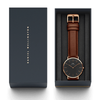 Daniel Wellington St Mawes 40mm Men's Gold Watch DW00100124