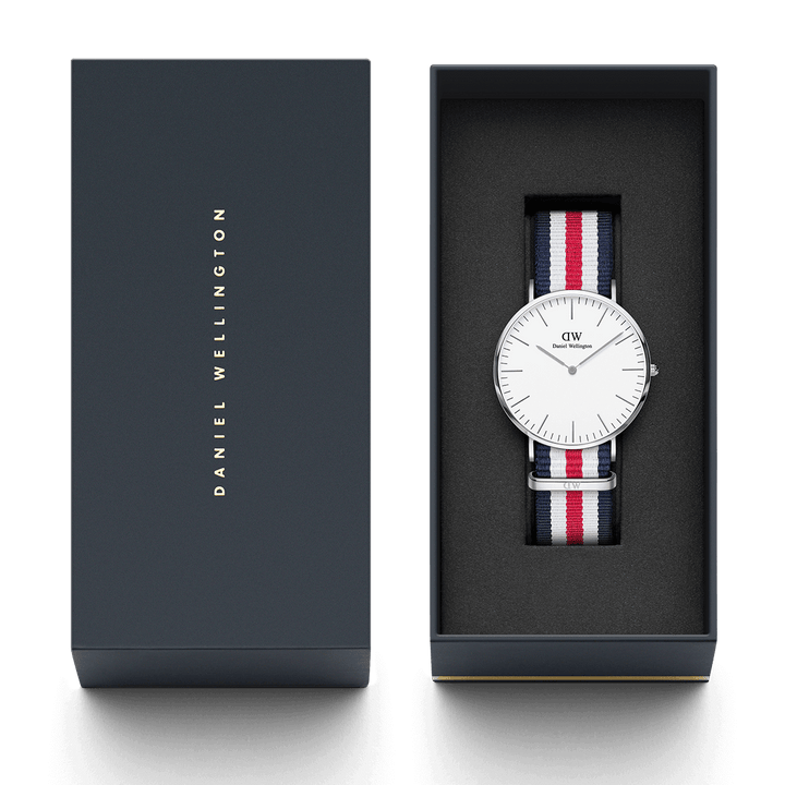 Daniel Wellington Canterbury 40mm Men's Silver Watch DW00100016