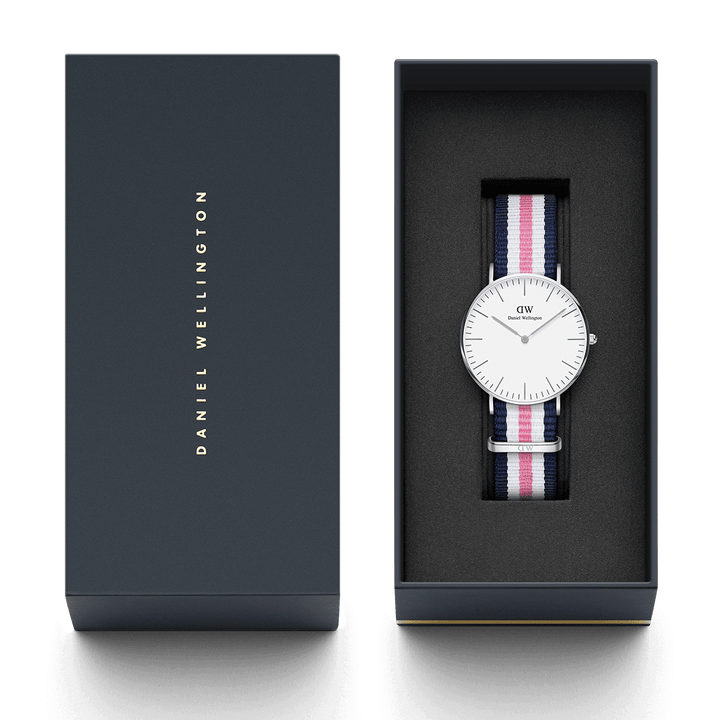 Daniel Wellington Southampton 36mm Women's Silver Watch DW00100050