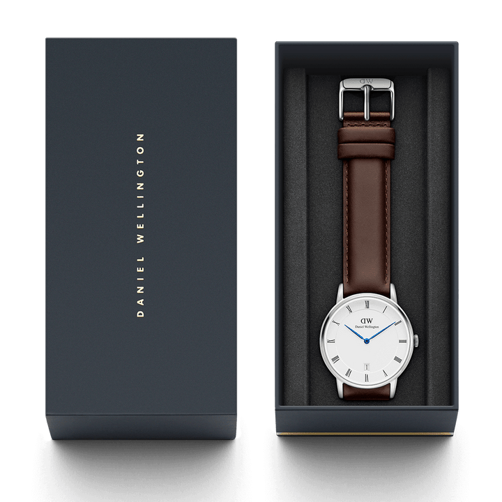 Daniel Wellington Dapper Bristol 38mm Men's Silver Watch DW00100090
