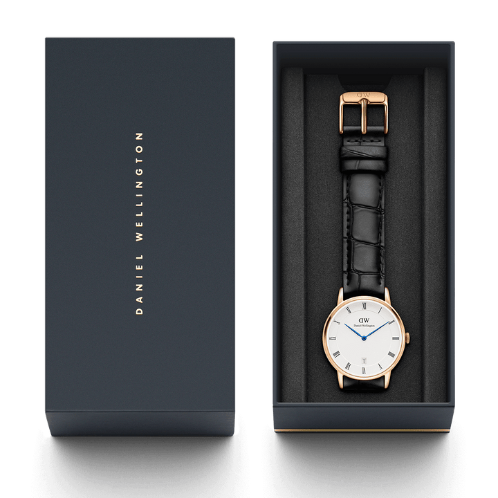 Daniel Wellington Dapper Reading 34mm Women's Gold Watch