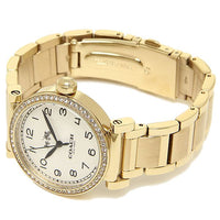 Coach Madison White Dial Gold-Tone Ladies Watch 14502397