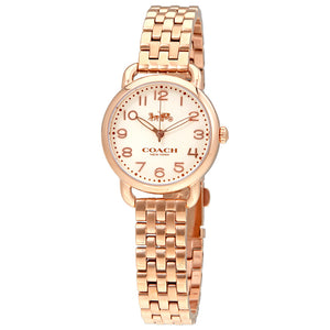 Coach Delancey Cream Dial Rose Gold-tone Ladies Watch 14502242