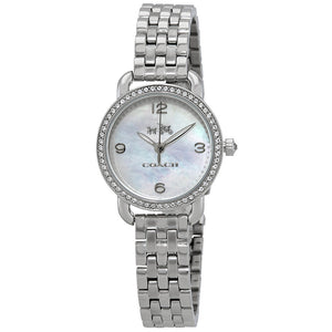 Coach Delancey Mother of Pearl Dial Ladies Watch 14502477