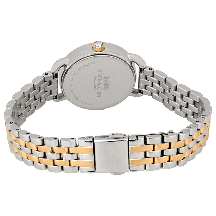 Coach Delancey Mother of Pearl Dial Two-Tone Ladies Watch 14502480