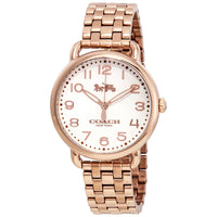 Coach Delancey Rose Dial Rose Gold-plated Ladies Watch 14502262
