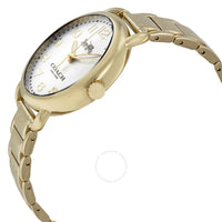 Coach Delancey Silver Dial Yellow Gold-tone Ladies Watch 14502496