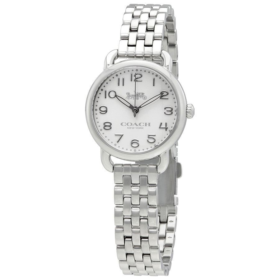 Coach Delancey Silver Dial Stainless Steel Ladies Watch 14502240