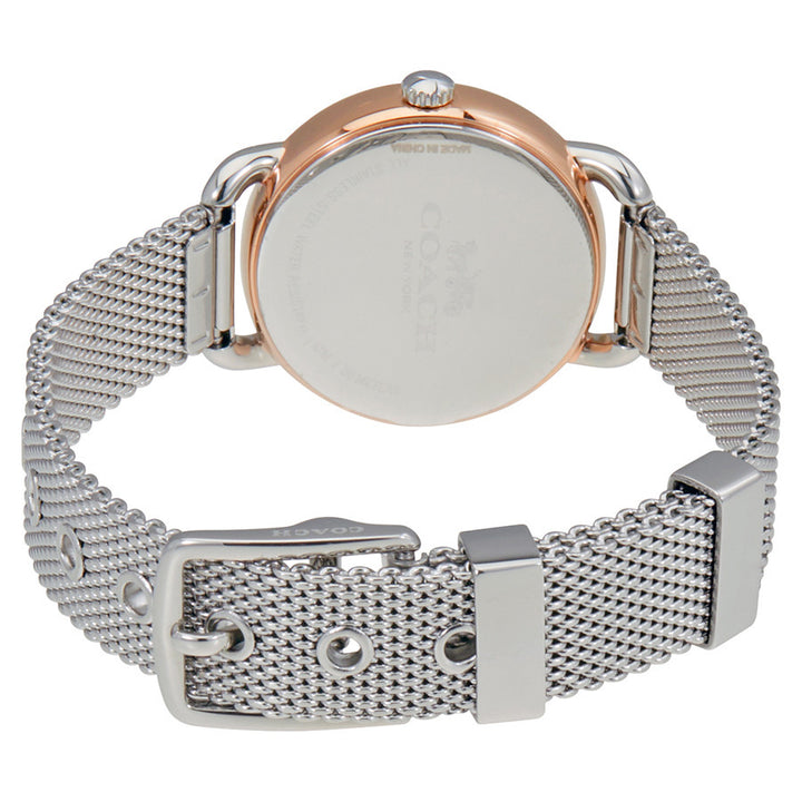 Coach Delancey Silver Dial Stainless Steel Mesh Ladies Watch 14502246