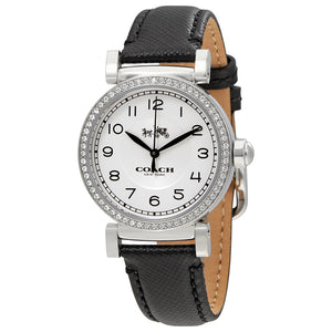 Coach Madison Silver Dial Leather Strap Ladies Watch 14502399