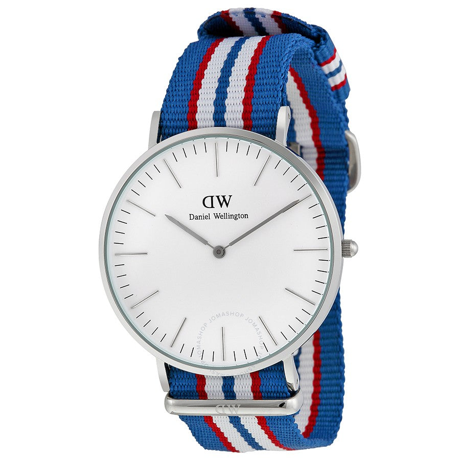 Daniel Wellington Classic Belfast 40mm Men's Silver Watch