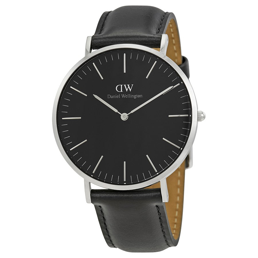 Daniel Wellington Sheffield 40mm Men's Silver Watch - Big Daddy Watches