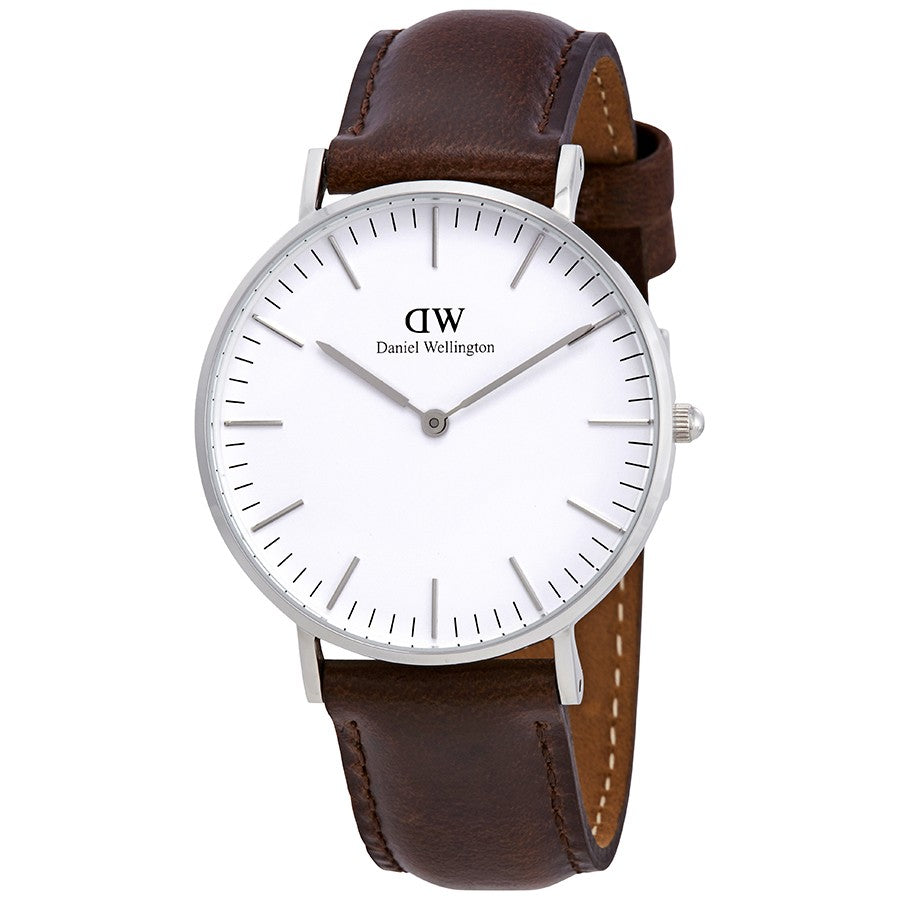 Daniel Wellington Classic Bristol 36mm Women's Silver Watch