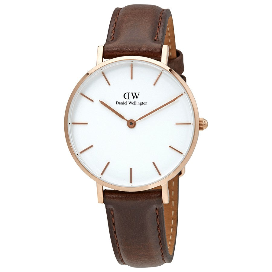 Daniel Wellington Classic Petite Bristol 28mm Women's Gold Watch