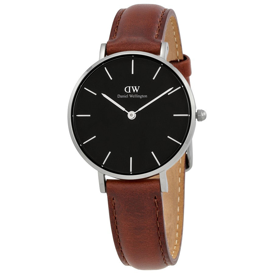 Daniel Wellington St Mawes 32mm Women's Silver Watch - Big Daddy Watches