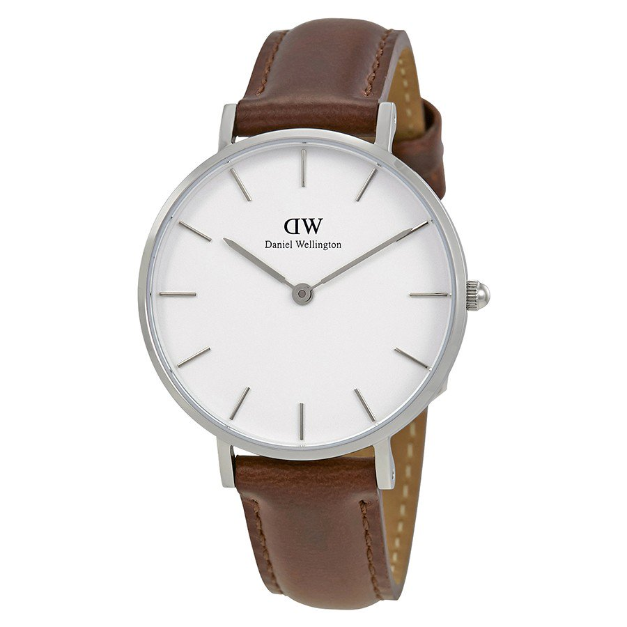 Daniel Wellington Classic St Mawes 32mm Women's Silver Watch