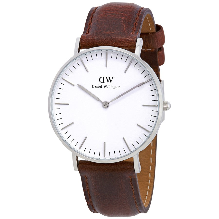 Daniel Wellington Classic St Mawes 36mm Women's Silver Watch