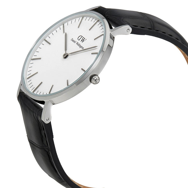 Daniel Wellington Reading 36mm Women's Silver Watch