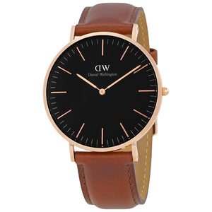 Daniel Wellington St Mawes 40mm Men's Gold Watch - Big Daddy Watches