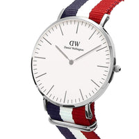 Daniel Wellington Cambridge 40mm Men's Silver Watch DW00100017