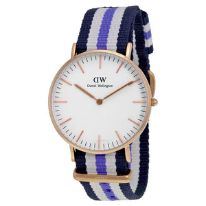 Daniel Wellington Classic Trinity 36mm Women's Gold Watch 0509DW - Big Daddy Watches