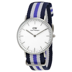 Daniel Wellington Classic Trinity 36mm Women's Silver Watch 0609DW - Big Daddy Watches