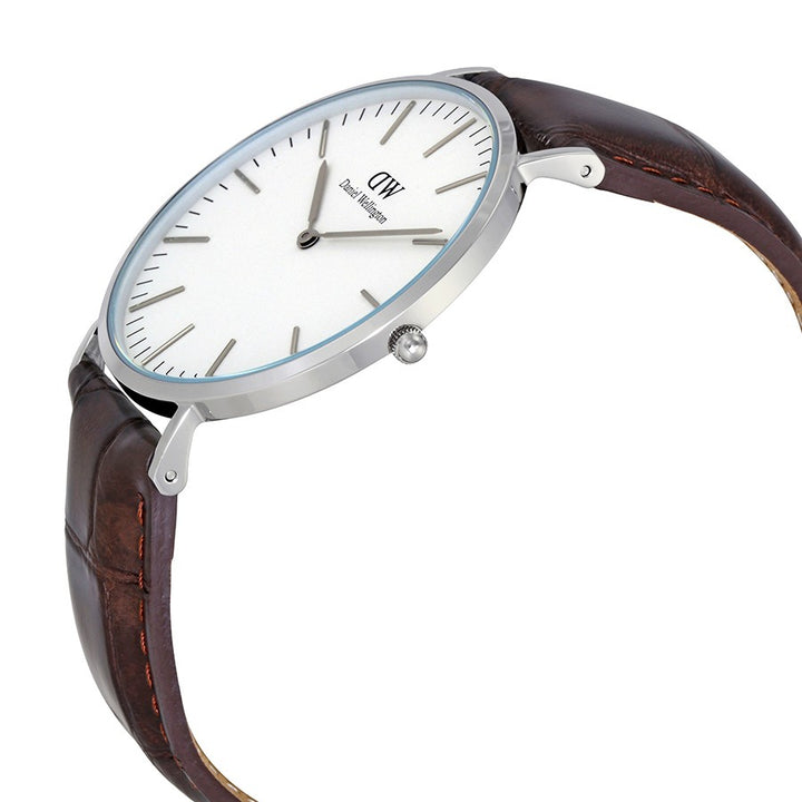 Daniel Wellington Classic York 40mm Men's Silver Watch