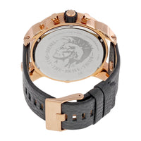 Diesel Big Daddy DZ7261 316L rose gold stainless steel 30m water resistant 4 Time zones